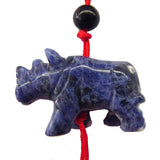 Blue Rhinoceros Charms - Asianly