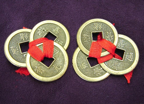 2 Sets of Wealthy Coins - Asianly
