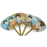 Japanese Geisha Fans for Dancing - Asianly