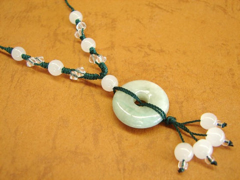 Jade Coin Necklace - Asianly