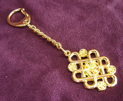 Mystic Knot with Coins Keychain - Asianly