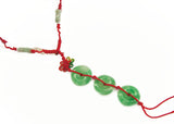 3-Jade-Coin Necklace - Asianly