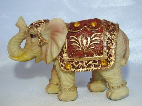 Ivory Color Elephant Figurine - Asianly