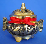 Brass Incense Burner for Cone Incenses - Asianly