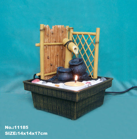 Zen Garden Water Fountain - Asianly
