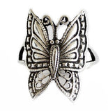 Silver Butterfly Ring for Ladies - Asianly