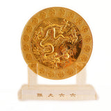 6 Heaven Gold Coins Plaque - Asianly