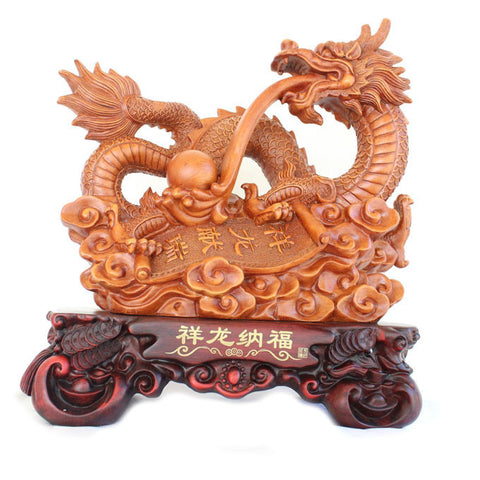 Big Dragon Statue - Asianly