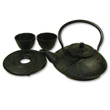 Black Cast Iron Tea Set - Asianly