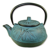 Blue Cast Iron Teapot - Asianly
