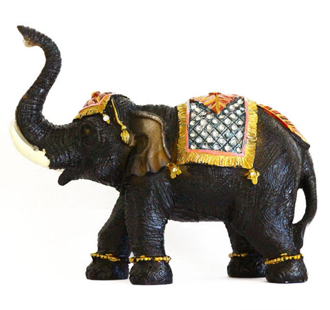 Black Elephant Statue - Asianly