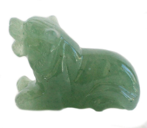 Jade Tiger Statue - Asianly