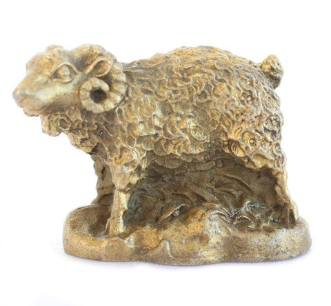 Metal Sheep Statue - Asianly