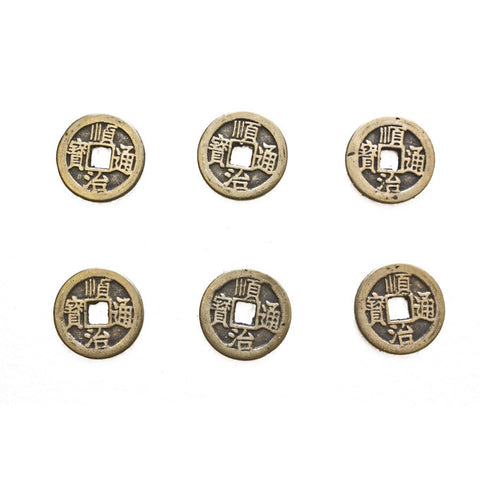 6 of I ching Coins - Asianly