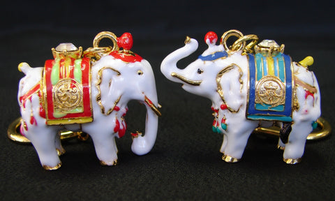 Pair of White Elephants - Asianly