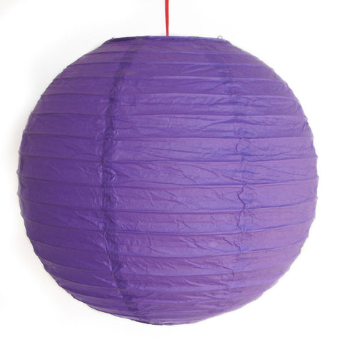 2 of Purple Paper Lanterns - Asianly