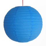 2 of Blue Paper Lanterns - Asianly