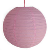 2 of Light Pink Paper Lanterns - Asianly