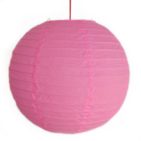 2 of Pink Paper Lanterns - Asianly