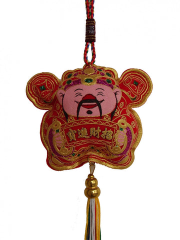 New Year Decoration Charm - Wealth God - Asianly