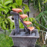 Four-Tier Cascading Fountain - Asianly