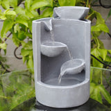 Grey Mini Tabletop Fountain - Asianly