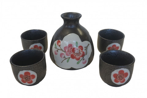 Black Sake Set - Asianly