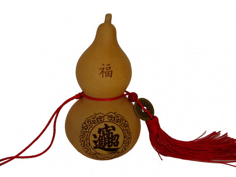 Feng Shui Wu Lou Charm with coin - Asianly