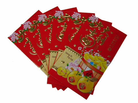 Big Chinese Money Envelopes with Coin Pictures - Asianly
