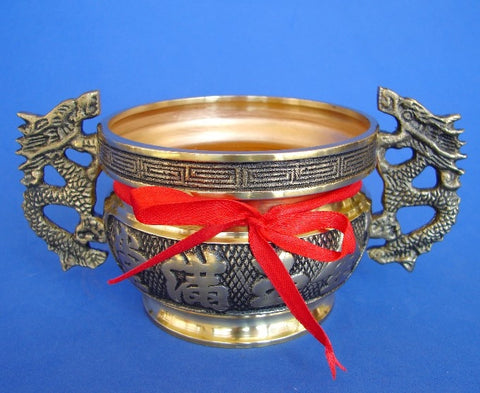 Copper  Incense Burner of Wealth - Asianly