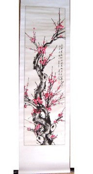 Plum Blossom Scroll Picture - Asianly