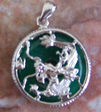 Jade Dragon Pendants - Asianly