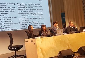 NAASR/Knights of Vartan Grant Recipient Presents Paper at Digital Armenian Conference in Paris