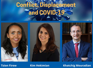 CONFLICT, DISPLACEMENT and COVID-19 ~ Thursday, December 3, 2020 ~ LIVE on Zoom/YouTube