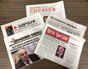 THE ARMENIAN-AMERICAN PRESS IN PERSPECTIVE ~ Thursday, February 13, 2020