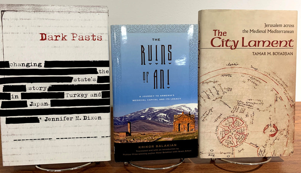 NAASR ANNOUNCES WINNERS OF SONA ARONIAN ARMENIAN STUDIES BOOK PRIZES