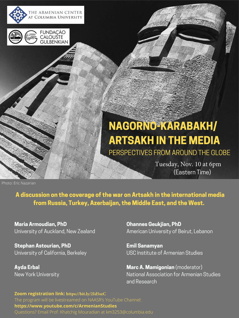 NAGORNO-KARABAKH/ ARTSAKH IN THE MEDIA: Perspectives from Around the Globe
