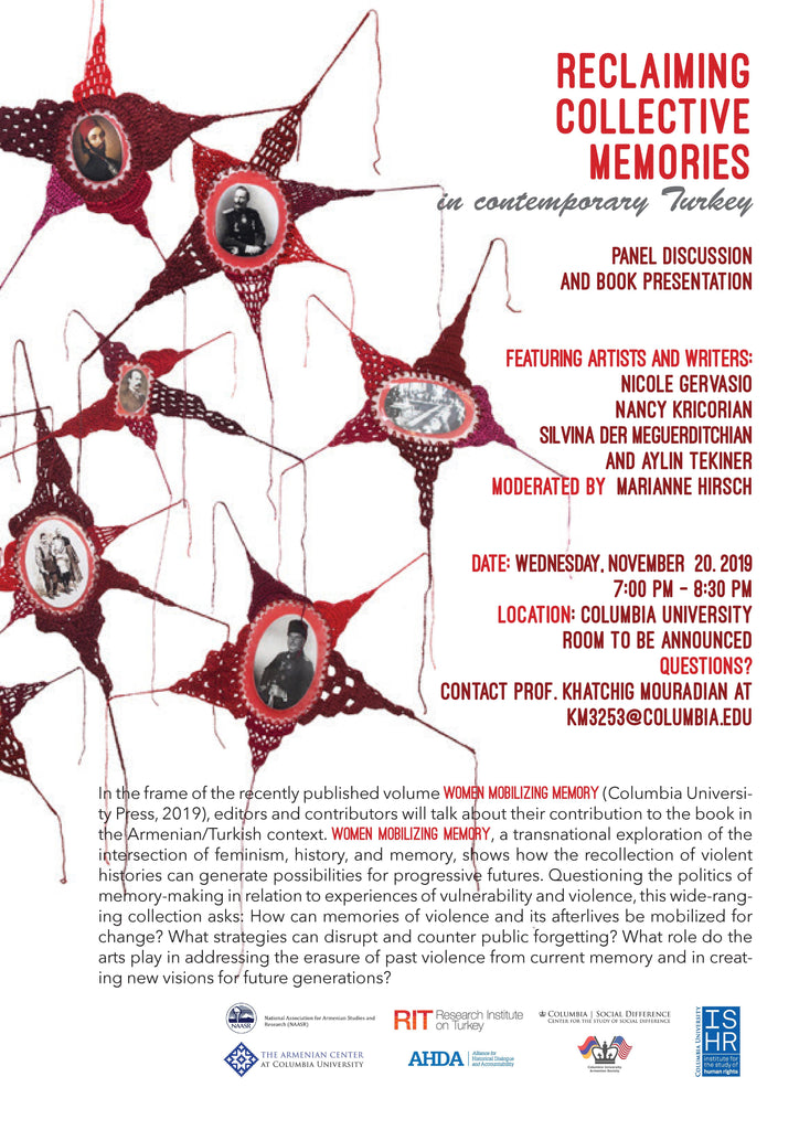 Feminist Artists and Writers on Reclaiming Collective Memories in Contemporary Turkey ~ November 20, 2019