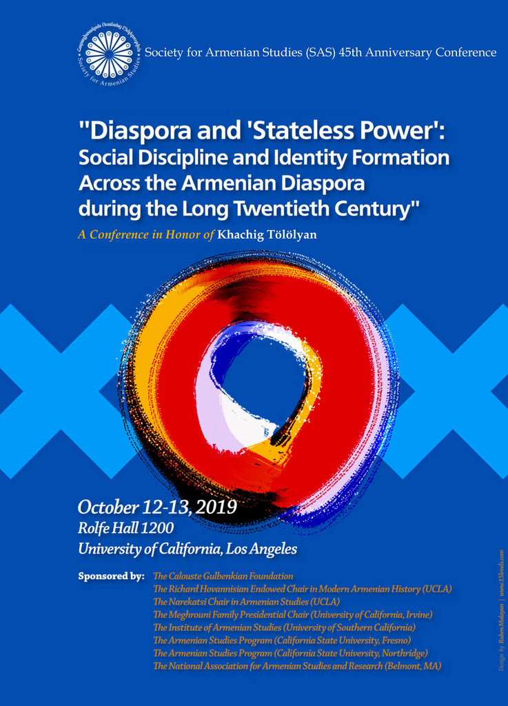 SAS Conference: Diaspora and 'Stateless Power' ~ October 12-13, 2019