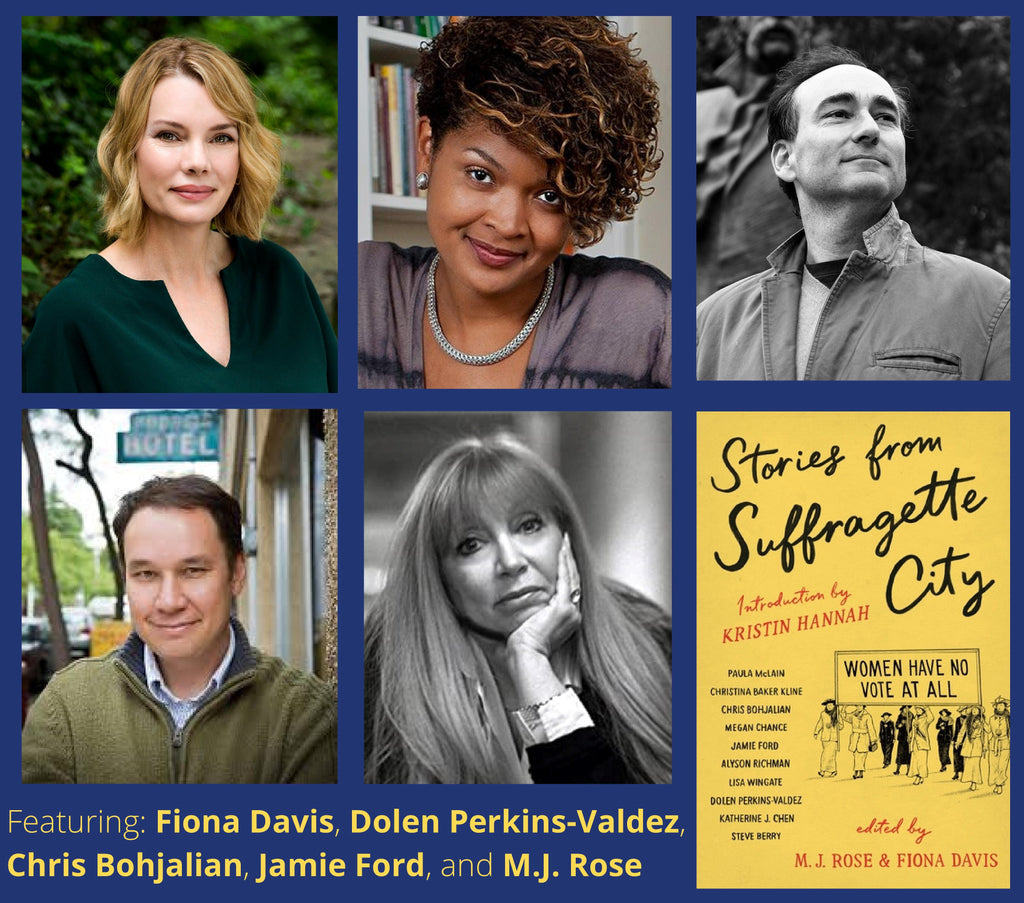 A Conversation w/Bestselling Authors of Stories from Suffragette City ~ Thursday, November 19, 2020 ~ LIVE on Zoom/YouTube