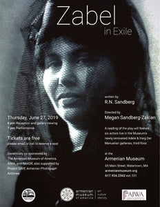 "Reading of ""Zabel In Exile"" in Watertown"