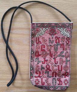 ARMENIAN ALPHABET HANDBAG