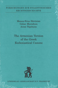 ARMENIAN VERSION OF THE GREEK ECCLESIASTICAL CANONS
