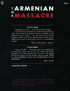 ARMENIAN MASSACRE, THE