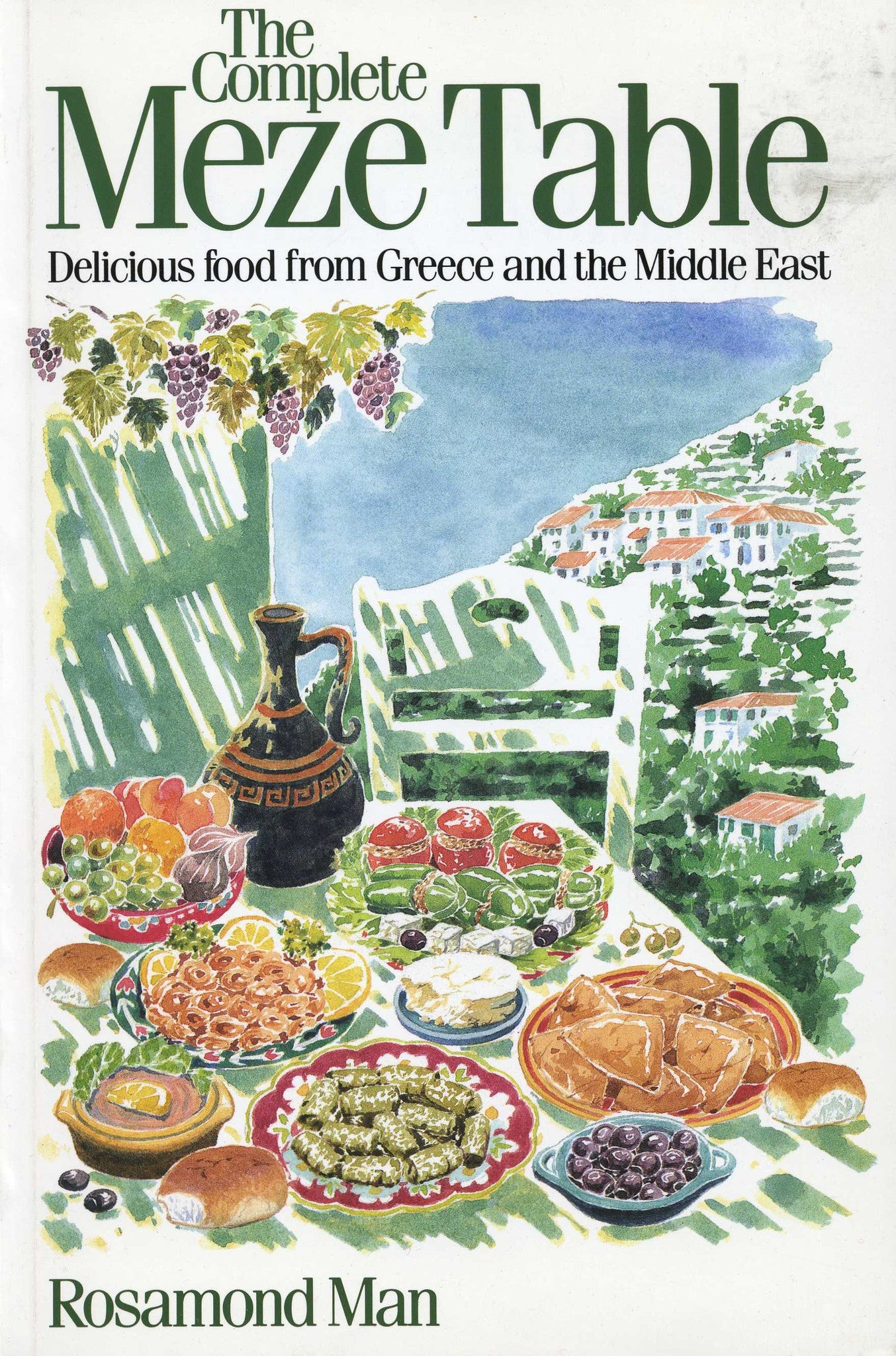 COMPLETE MEZE TABLE: Delicious Food from Greece and the Middle East