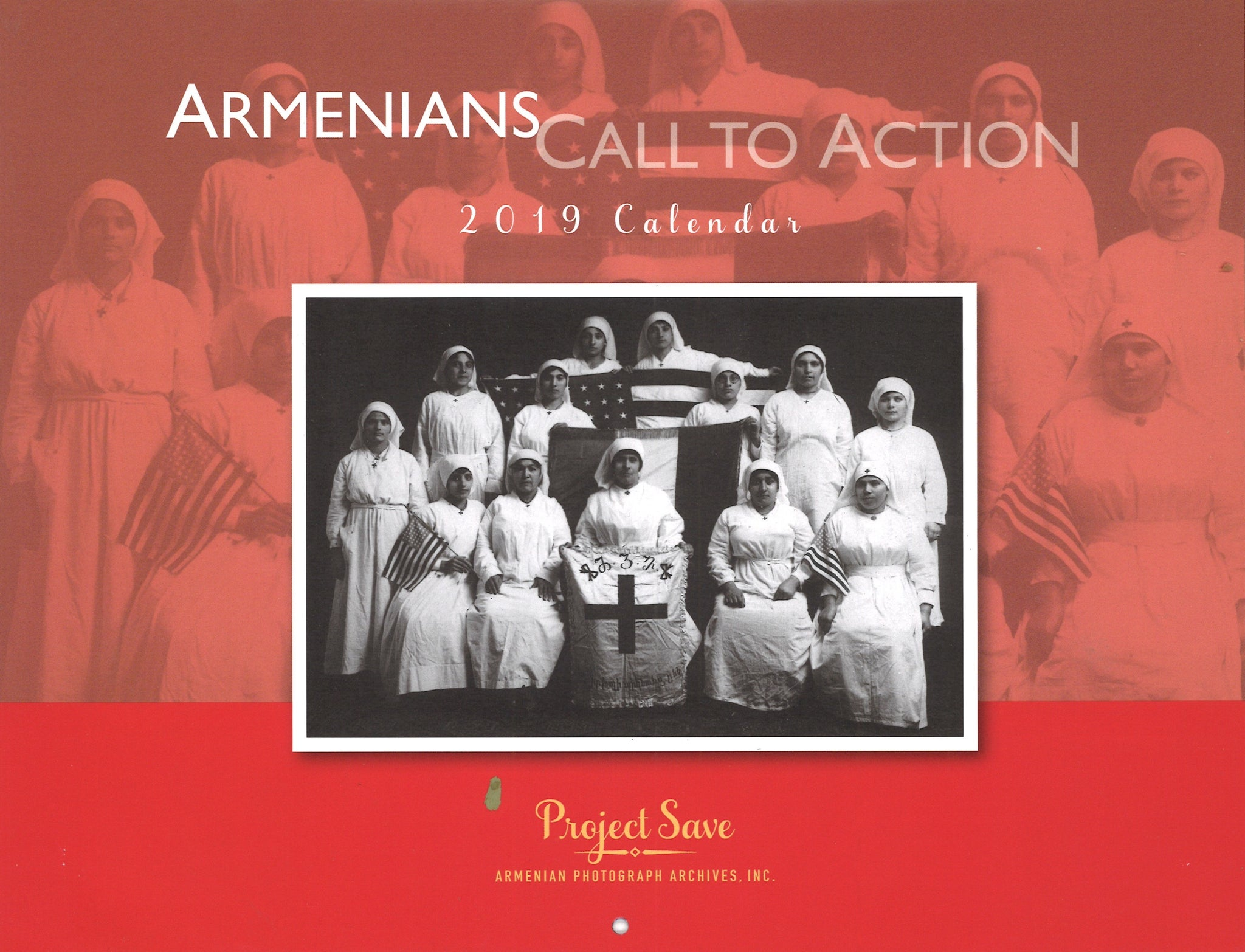 PROJECT SAVE CALENDAR 2019: Armenians Call to Action