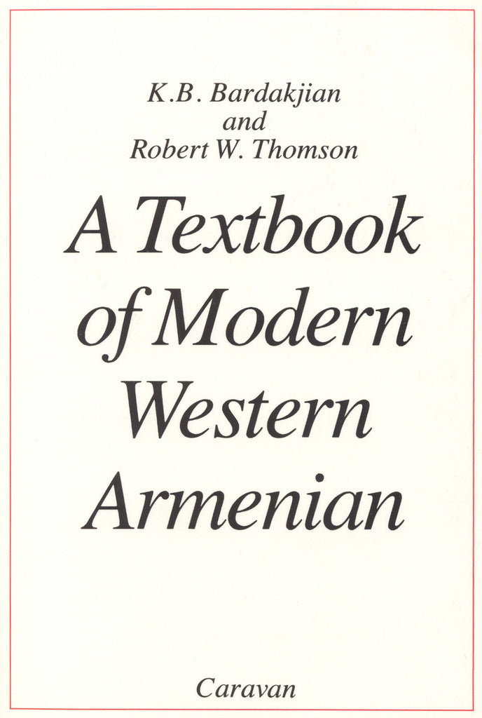 TEXTBOOK OF MODERN WESTERN ARMENIAN