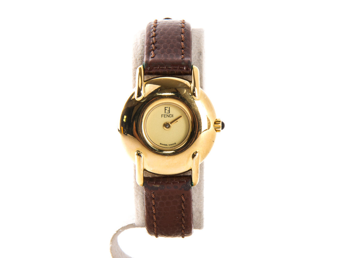 Fendi Orologi Ladies Wristwatch 400 L Gold Tone
