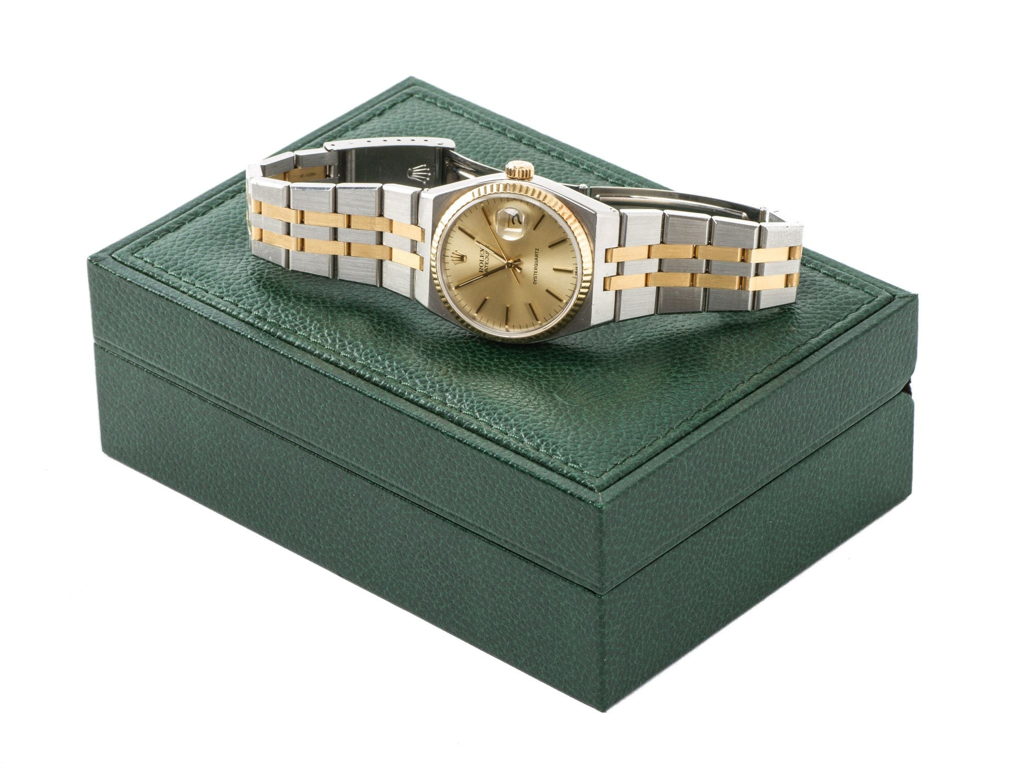 Rolex Datejust Oyster Quartz 2 Tone Gold...