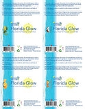 Florida Salt Scrubs Florida Glow Spray Lotion, 60 Milliliter, 4 Pack, Scents of Florida Sampler Pack